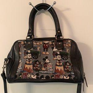 Vintage Walt Disney Gallery leather handbag
